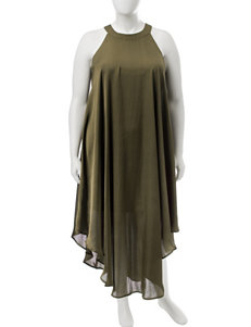 Signature Studio Olive Everyday & Casual Shift Dresses