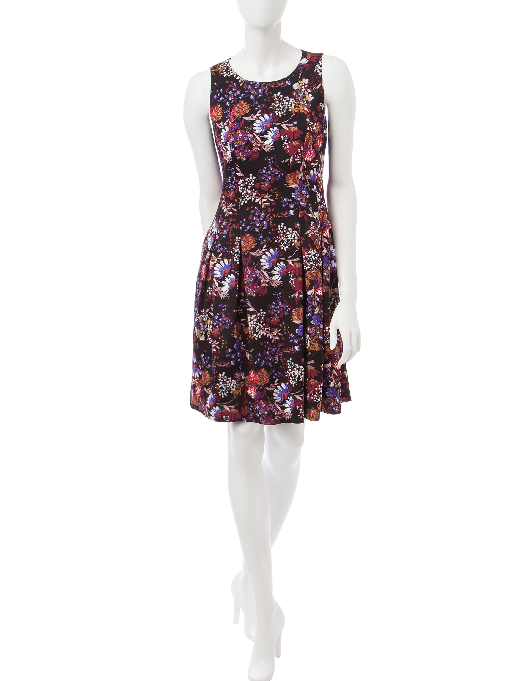 Nine West Multi Everyday & Casual A-line Dresses Fit & Flare Dresses