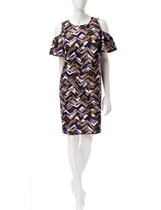 Nine West Multi Everyday & Casual Shift Dresses