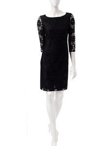 Nine West Black Everyday & Casual Shift Dresses
