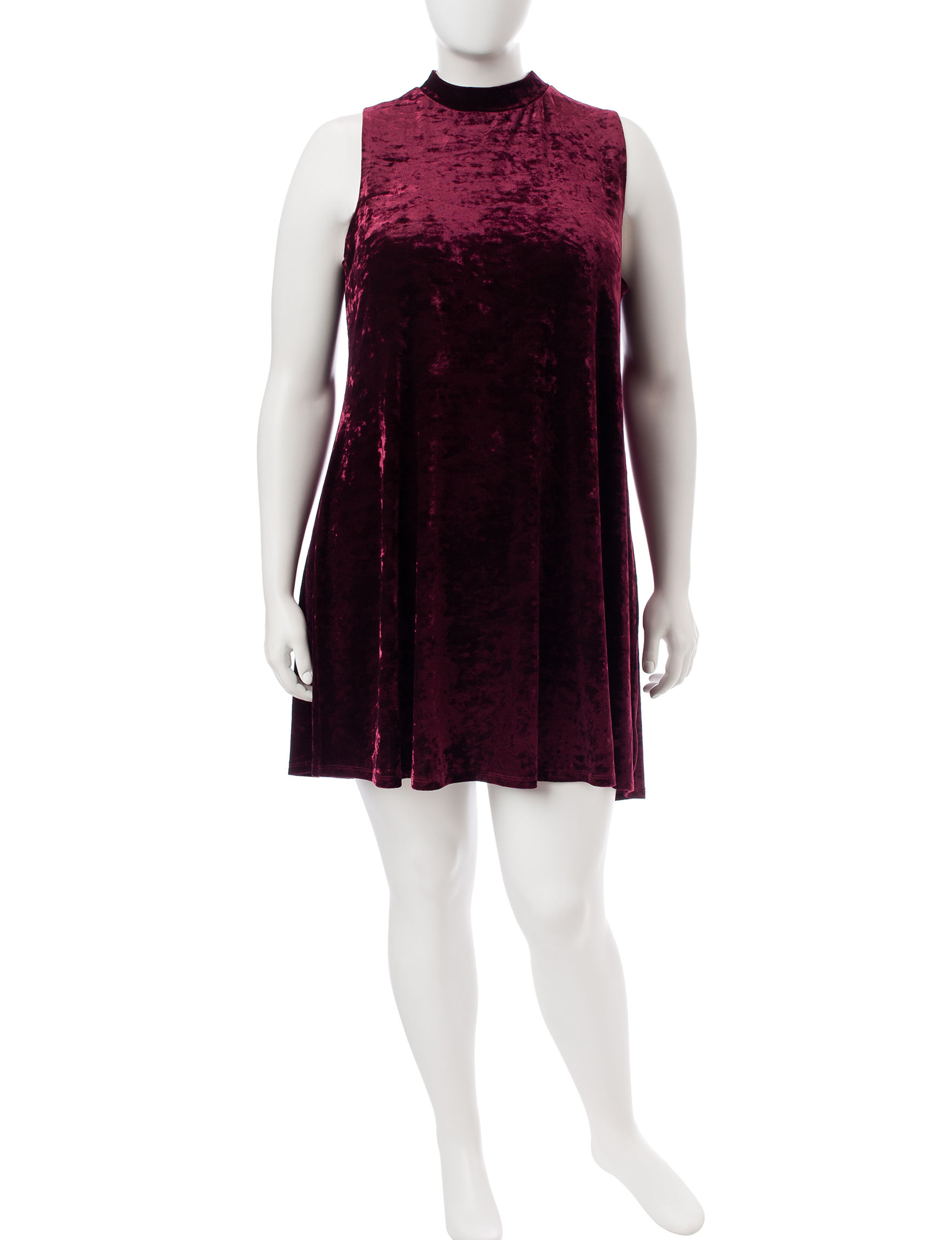 Signature Studio Wine Everyday & Casual Shift Dresses