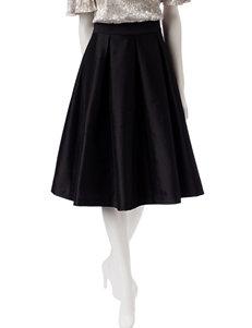 Ronni Nicole Fit & Flare Taffeta Skirt
