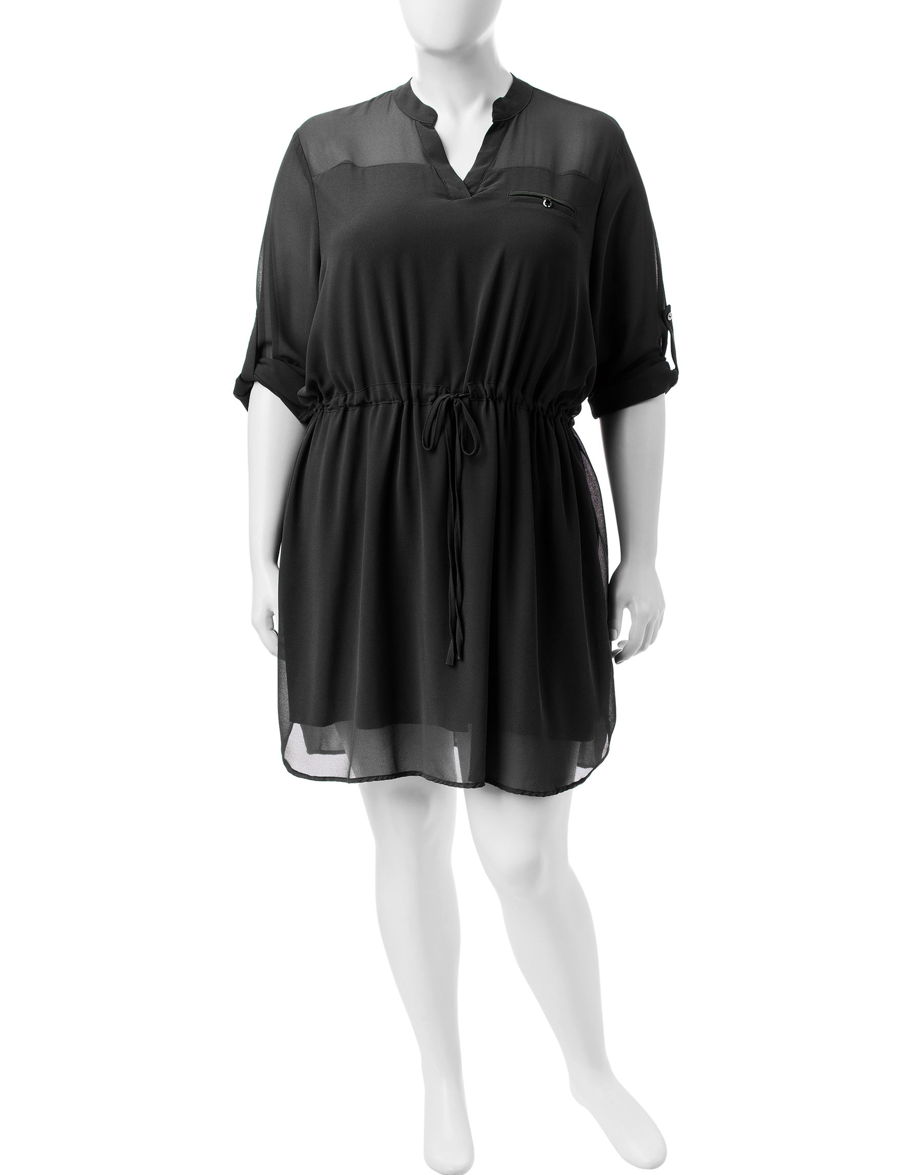 Liberty Love Black Everyday & Casual Shirt Dresses