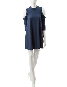 Trixxi Navy Everyday & Casual Shift Dresses