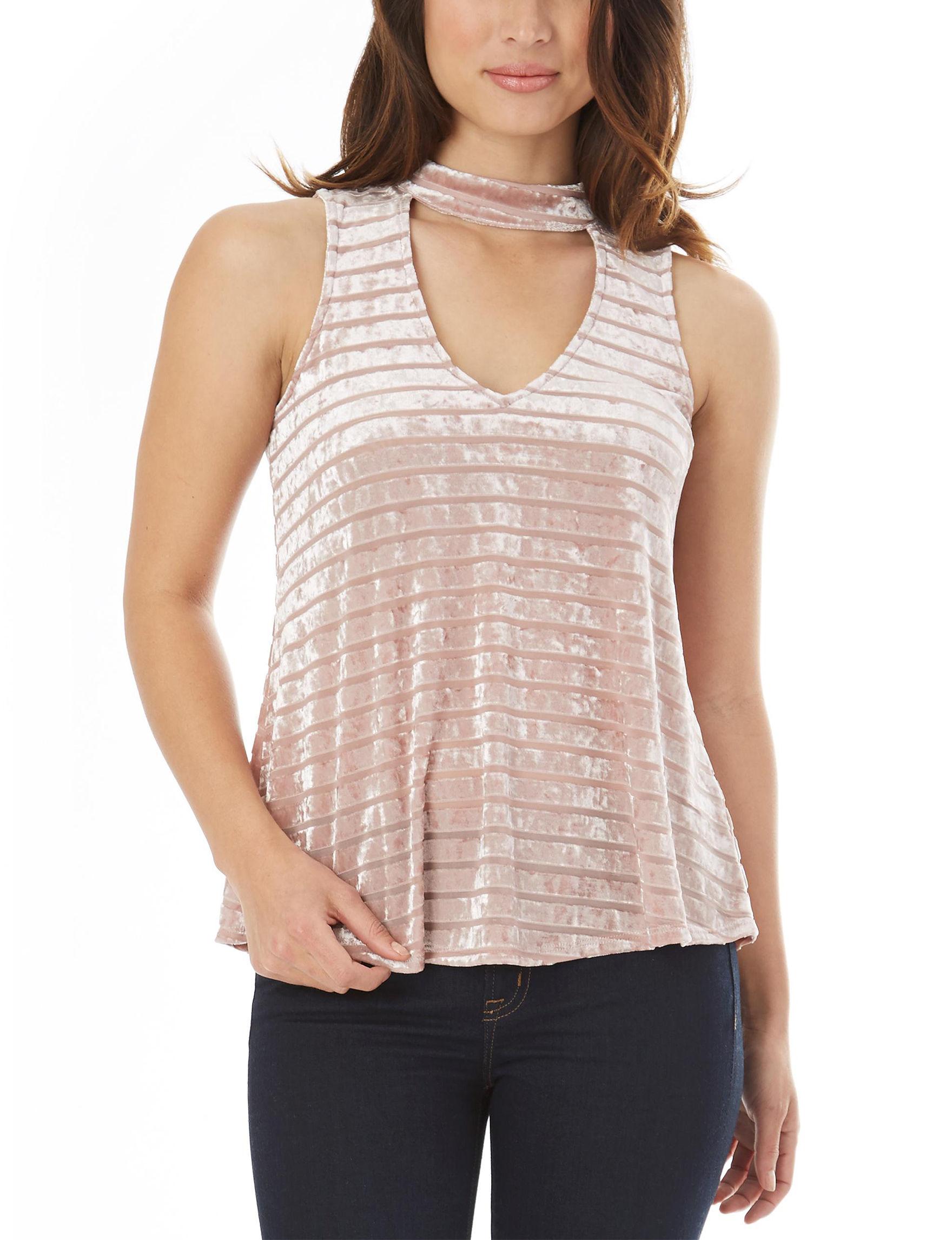 A. Byer True Mauve Shirts & Blouses