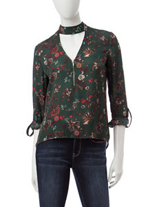 My Michelle Hunter Green Everyday & Casual Shirts & Blouses
