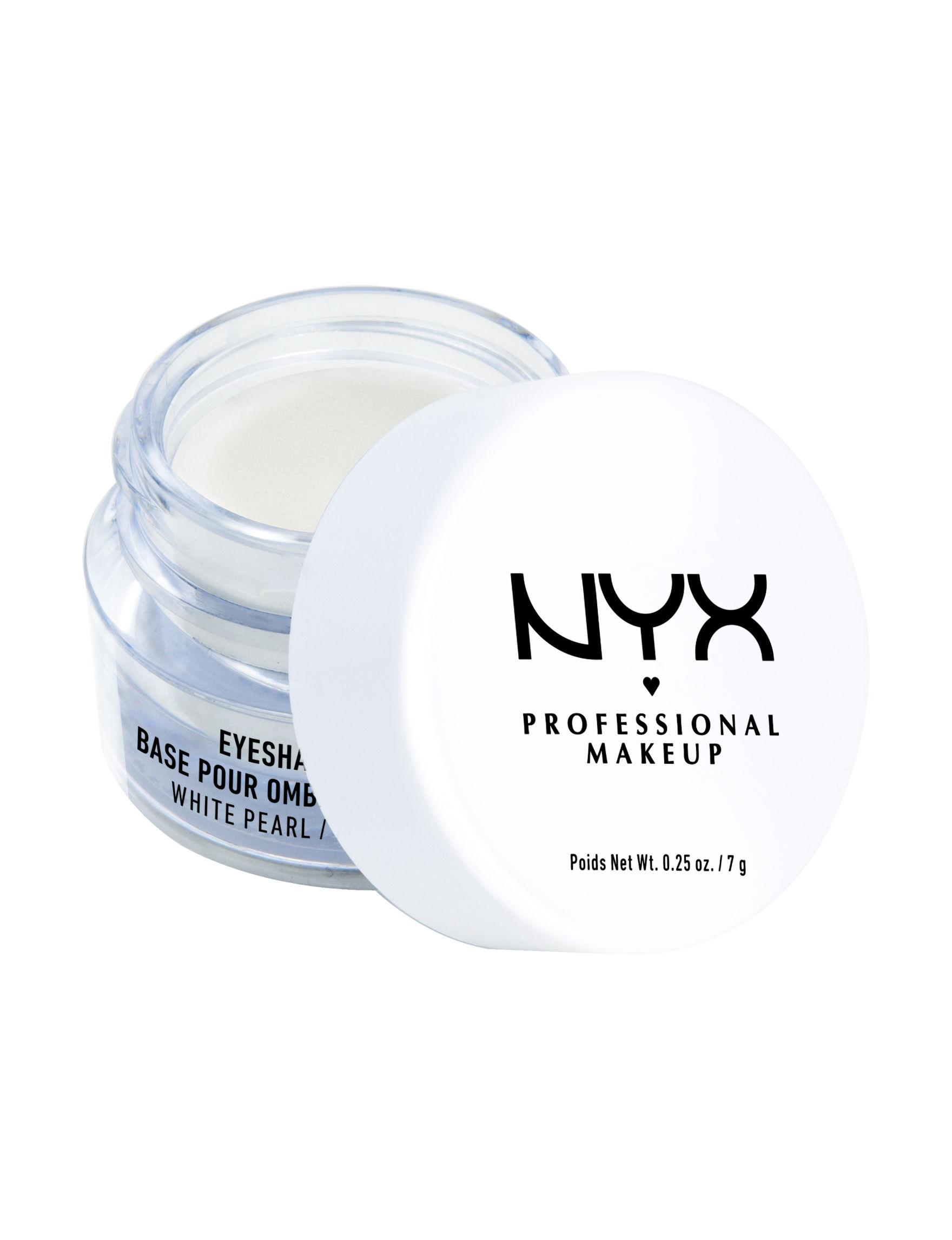 NYX Professional Makeup White Eyes Eye Shadow