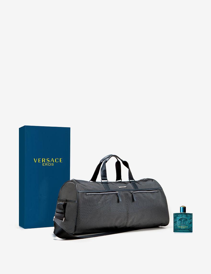 537900265307 ... 3.4 oz Eau de Toilette Spray + Complimentary Duffle EAN 8011003820757  product image for Versace Eros 2-pc. Set for Men - -