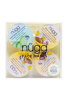 Nugg 4-pk. Face Masks 4-Day Sensitive Skin Treatment