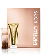 Michael Kors Gold Collection Rose Radiant Gold Set for Women (A $112 Value)