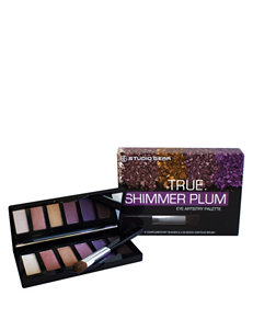 Studio Gear True Shimmer Plum EyeShadow Palette