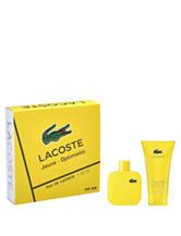 LacosteL.12.12.Jaune Optimistic 2-pc. Set for Men (A $87 Value)