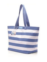 Dolce&Gabbana Light Blue Striped Tote Bag Gift with Purchase