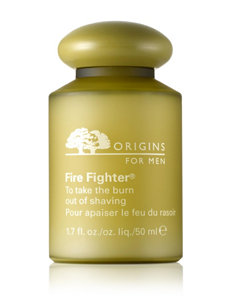 Origins For Men Fire Fighter® To Take the Burn Out of Shaving