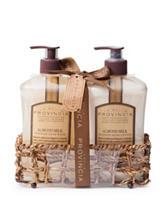 La Bella Provincia Almond Milk Hand Wash & Lotion Caddy
