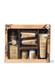 Tuscan Hills 6-pc. Vanilla Almond Body Care Set