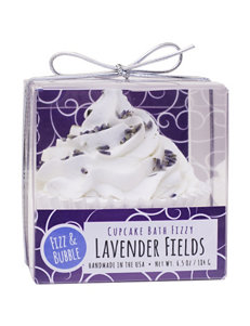 Fizz & Bubble Lavender Fields Cupcake Bath Fizzy
