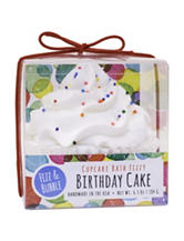 Fizz & Bubble Birthday Cake Cupcake Bath Fizzy