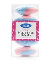 Fizz & Bubble 5-pk. Bubble Gum Mini Bath Fizzies