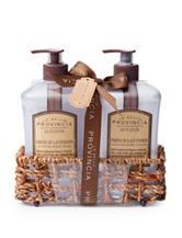 La Bella Provincia French Lavender Hand Wash & Lotion Caddy