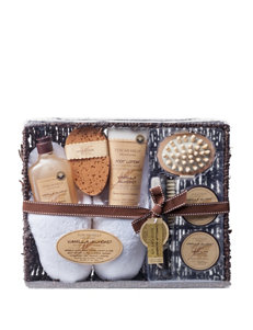 Tuscan Hills Vanilla Almond 8-pc. Ultimate Spa Slipper Set