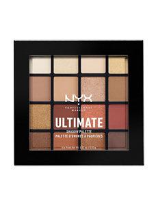 NYX Professional Makeup Warm Neutrals Eyes Makeup Kits & Sets Eye Shadow