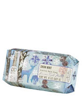 Common Wealth Soaps Snow Mint Scented Bath Soap