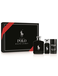 Ralph Lauren 3-pc. Polo Black Set for Men (A $144 Value)