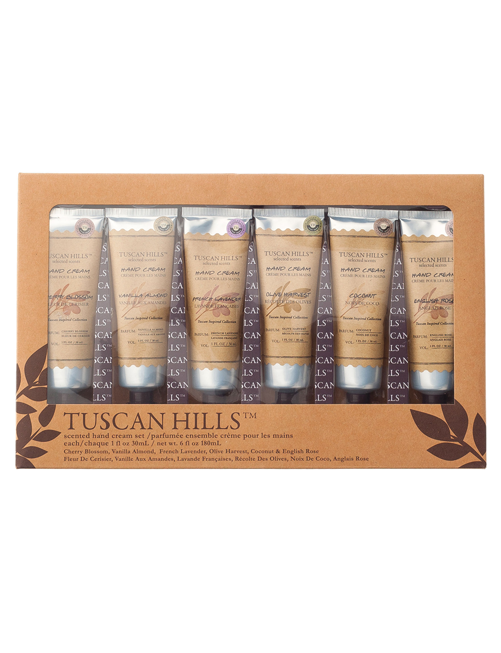Tuscan Hill  Bath & Body Gift Sets Hand & Foot Care