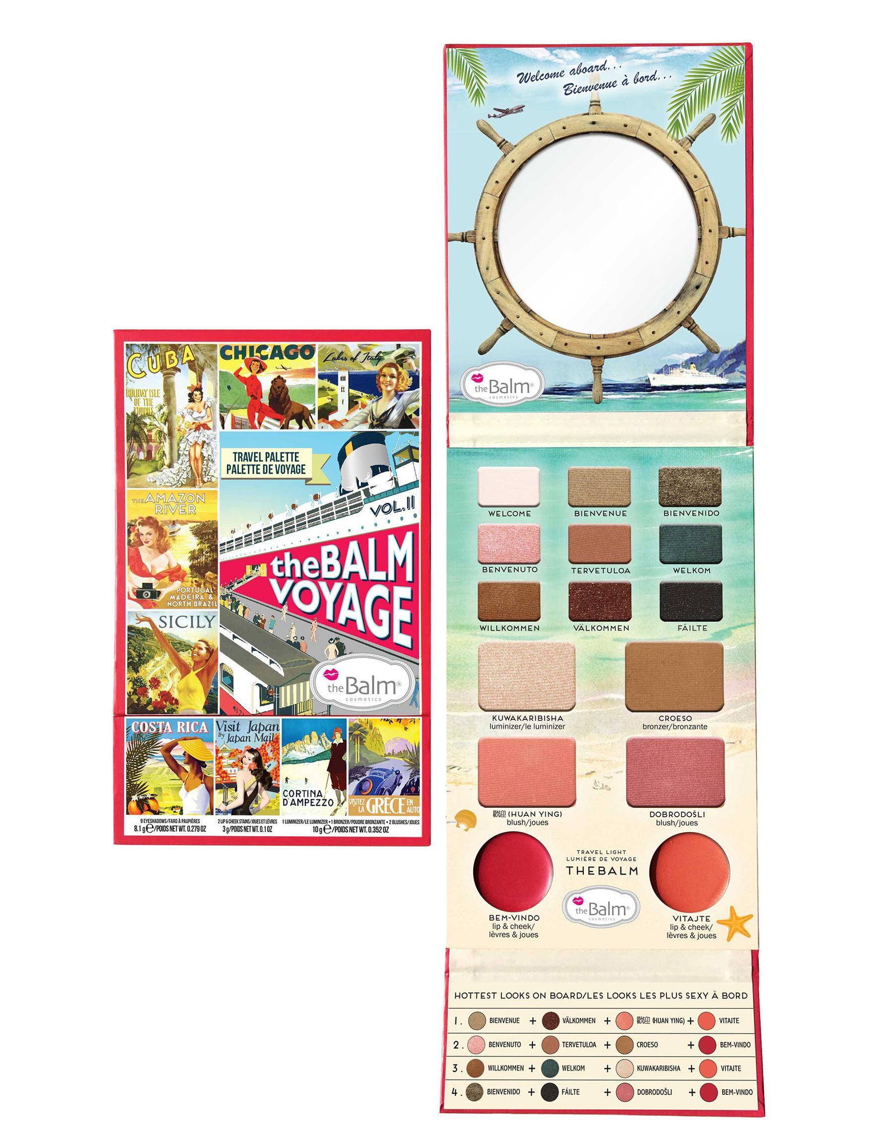 The Balm  Eyes Face Lips Makeup Kits & Sets Blush Bronzer Eye Shadow Highlighter Lip Gloss Lipstick