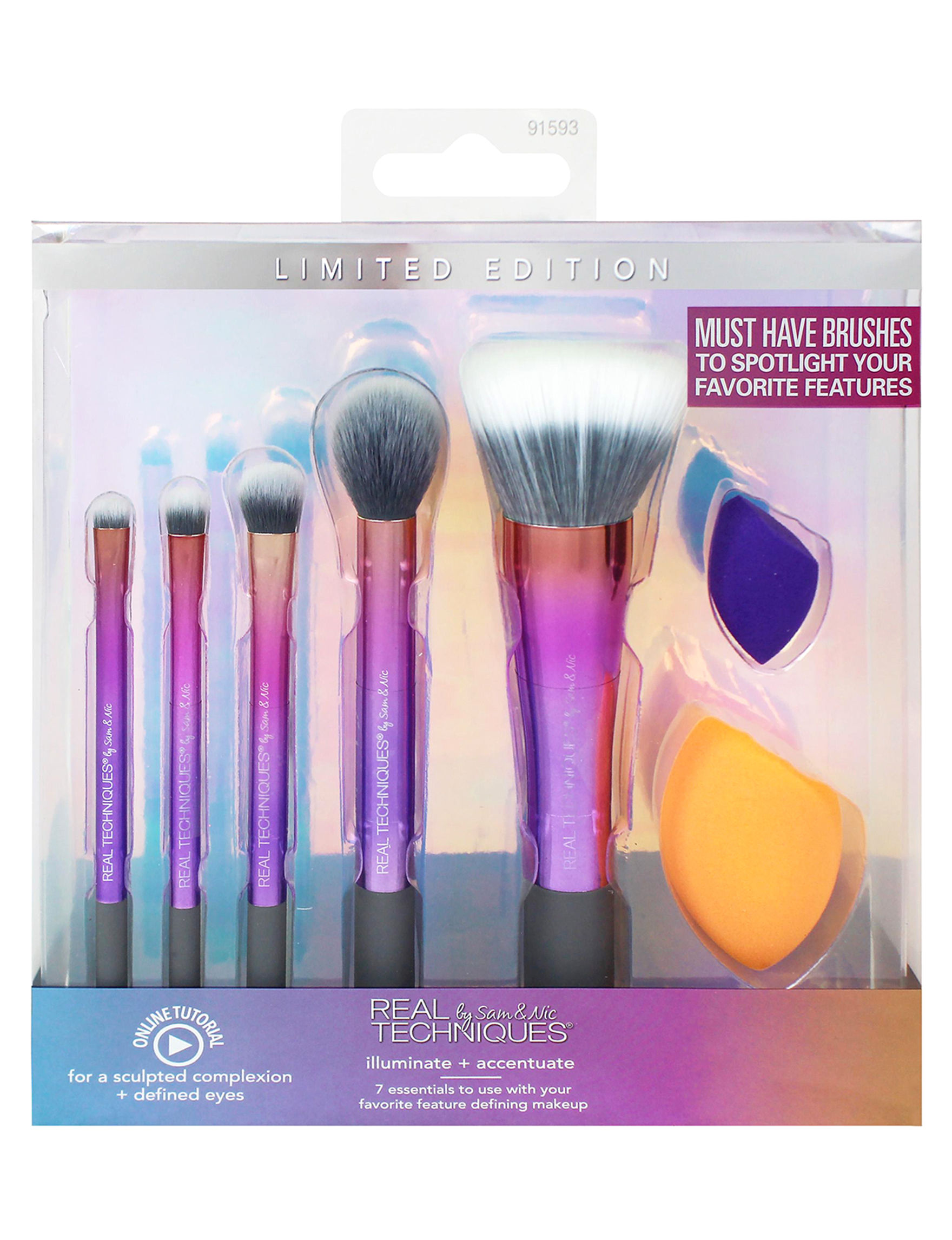 Real Techniques  Face Makeup Kits & Sets Tools & Brushes