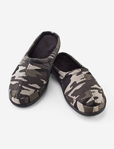 The Black Series Camo Memory Foam Slippers