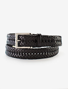Sun River Weave Casual Black Belt