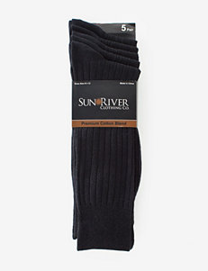 Sun River 5-pk. Ribbed Dress Socks