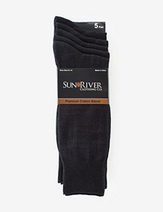 Sun River 5-pk. Textured Dress Socks