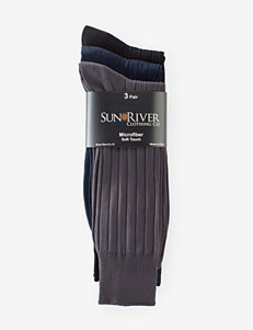 Sun River 3-pk. Microfiber Dress Socks