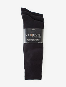 Sun River 3-pk. Bamboo Texture Dress Socks