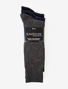 Sun River 3-pk. Bamboo Blend Dress Socks