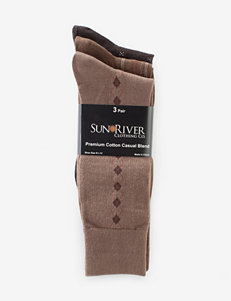 Sun River 3-pk. Premium Cotton Dress Socks