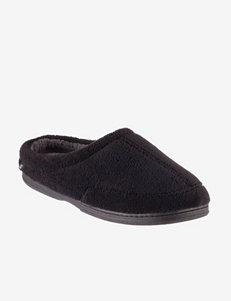 The Black Series Black Memory Foam Slippers