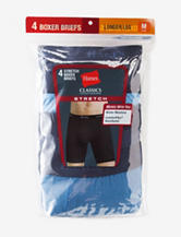 Hanes® 4-pk. Classics Stretch Boxer Briefs