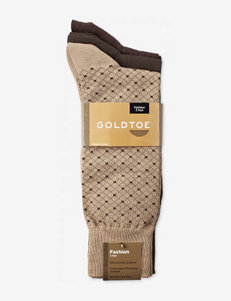 Gold Toe® 3-pk. Diamond Fashion Socks