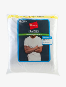 Hanes® 6-pk. Comfort Soft® Crewneck Tees