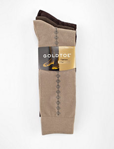 Gold Toe® 3-pk. Argyle Striped Fashion Socks