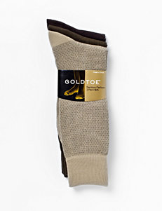 Gold Toe® Bamboo Fashion Socks 3-Pack