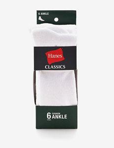 Hanes® 6-pk. Cushion Ankle Socks