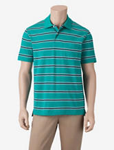 Sun River Striped Pocket Polo Shirt – Men's