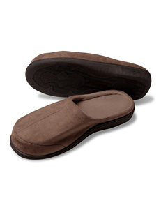 The Black Series Brown Memory Foam Slippers
