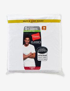 Hanes® 5-pk. Classics Crew Tees