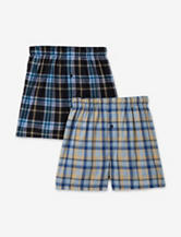Hanes® 2-pk. Tagless® Woven Boxers